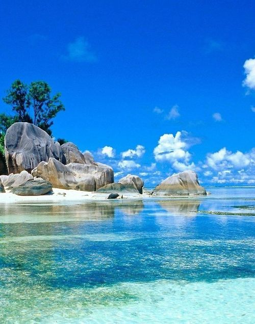 Seychelles, officially the Republic of Seychelles, is a 155-island country spanning an archipelago in the Indian Ocean, whose capital, Victoria, lies some 1,500 kilometres east of mainland Southeast Africa, northeast of the island of Madagascar. #beach #travel