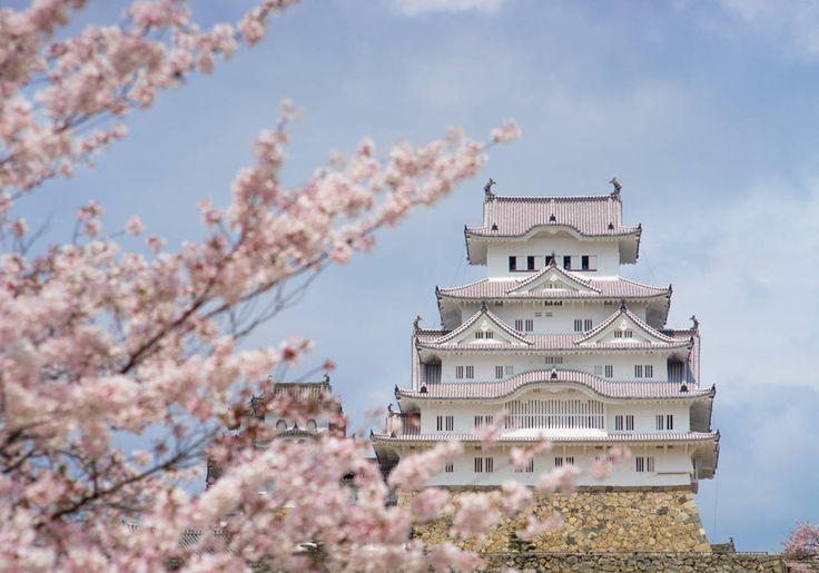 Le Château de Himeji, au Japon