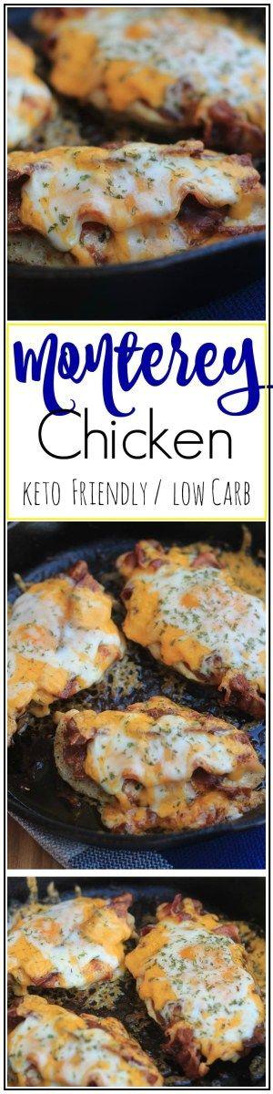 BEST MONTEREY CHICKEN KETO / LOW CARB