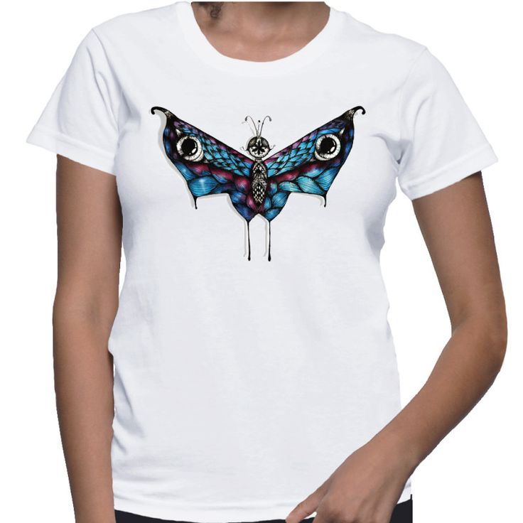 'Hell Butterfly' by Siriusreno. See the tee here: http://nobodyspeople.com/product/hell-butterfly/