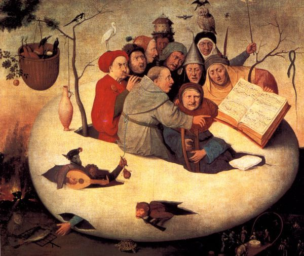 after Hieronymus Bosch 'The Concert in the Egg'