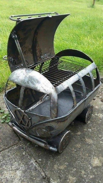 Bus-becue BBQ grill ...See Translation