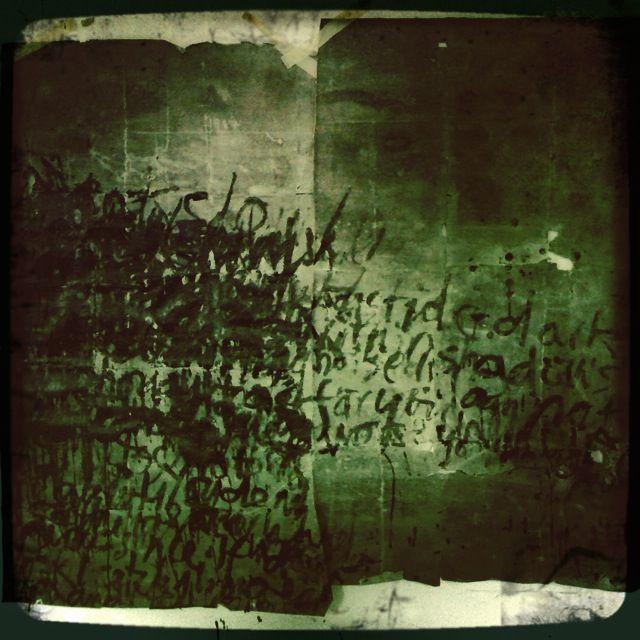 Alice Leach - asemic writing