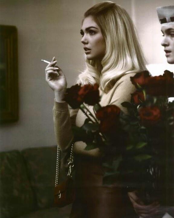 Kate upton smoking