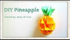 Get crafty and learn how to make your own pineapple decor for Chinese New Year. Don't worry, you don't need to be a master craftsman for this!