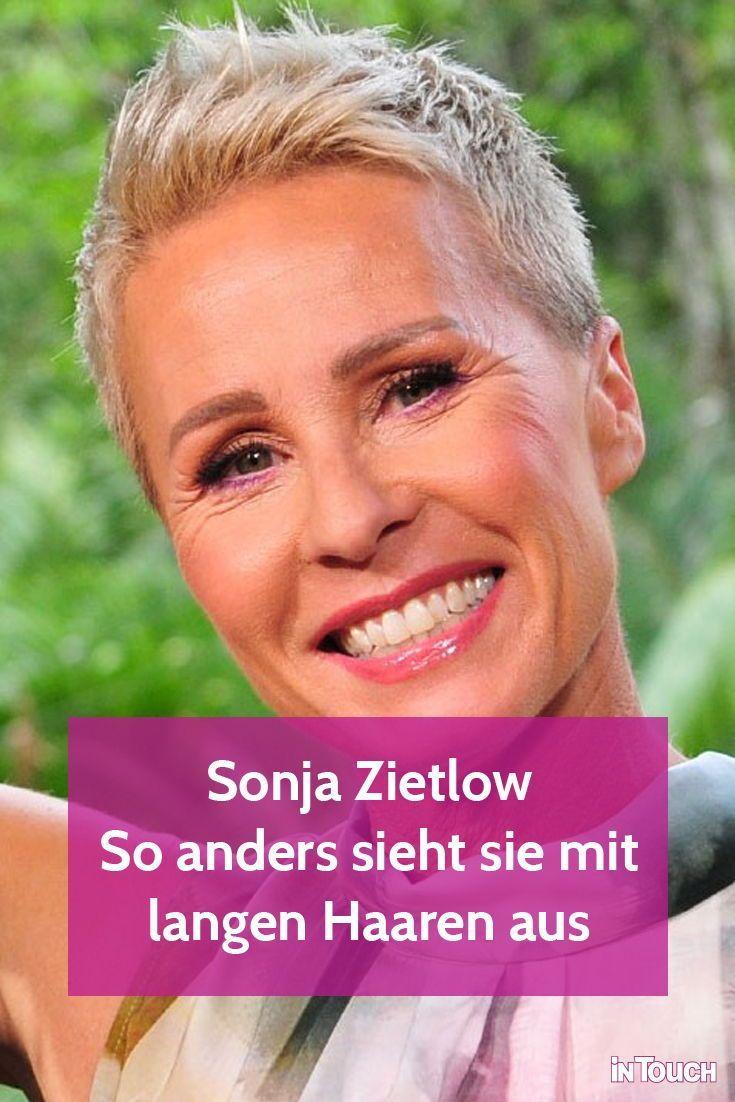 Sonja Zietlow Frisur So Anders Sah Sie Mit Langen Haaren Aus In 2020 Sonja Zietlow Sonja Zietlow Frisur Kurze Haare Frauen Rundes Gesicht