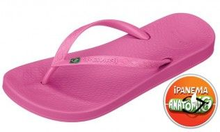 Ipanema Beach Pink Flip Flop The range of colours is cool and perfect for summer and the thin strap has a small sparkly Brazilian flag on it. Youll want every colour of this versatile classic to match every outfit. A classic http://www.comparestoreprices.co.uk/womens-shoes/ipanema-beach-pink-flip-flop.asp
