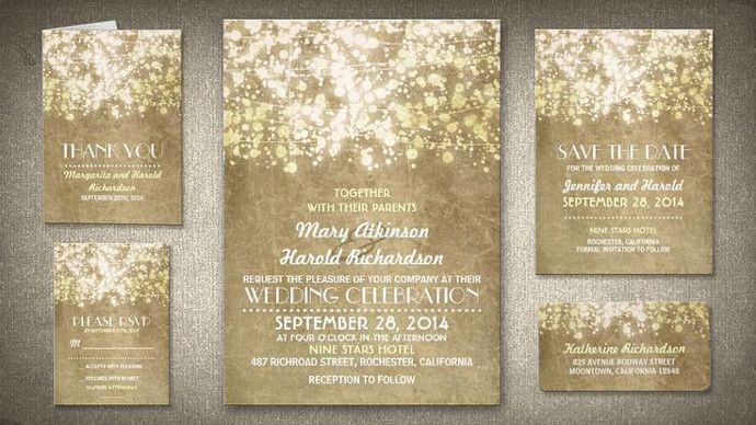 Sweet spring wedding invitation trends perfect for your wedding - Wedding Party
