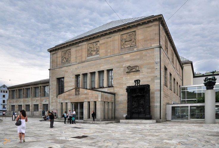 Кунстхаус – #Швейцария #Цюрих (#CH_ZH) Крупнейший художественный музей Швейцарии. http://ru.esosedi.org/CH/ZH/1000251260/kunsthaus/