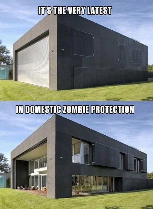 Survival Zombie Apocalypse:  #Survival ~ 12 Houses That Will Get You Through a #Zombie #Apocalypse.