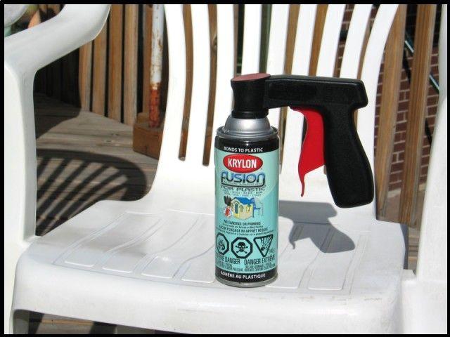 cleaning & refinishing plastic patio furniture