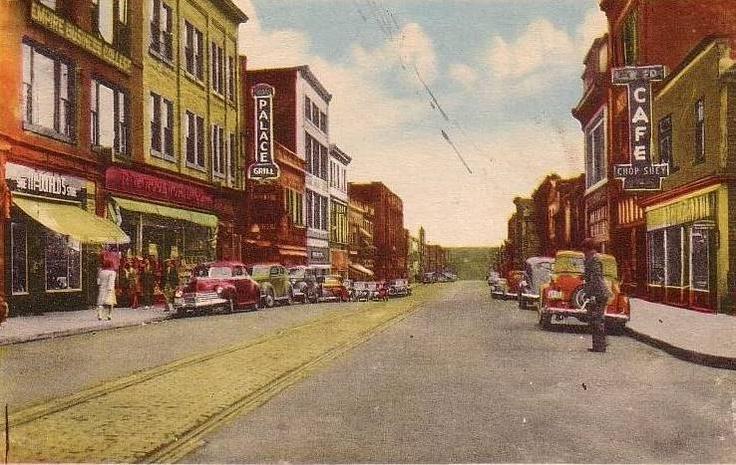 Charlotte St_Sydney_Cape Breton_1950 | Photographs And Memories of Cape Breton_Cape Breton Nova Scotia