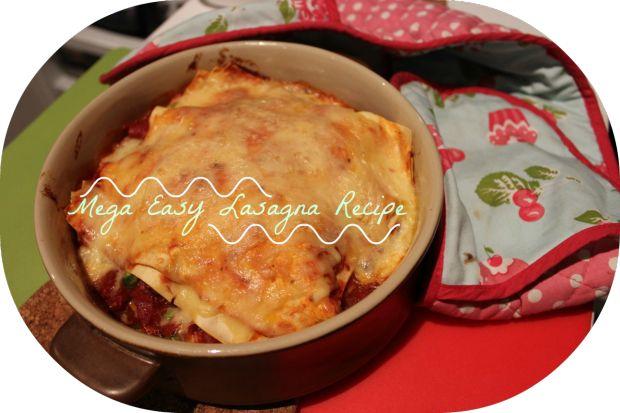Mega Easy Lasagna Recipe