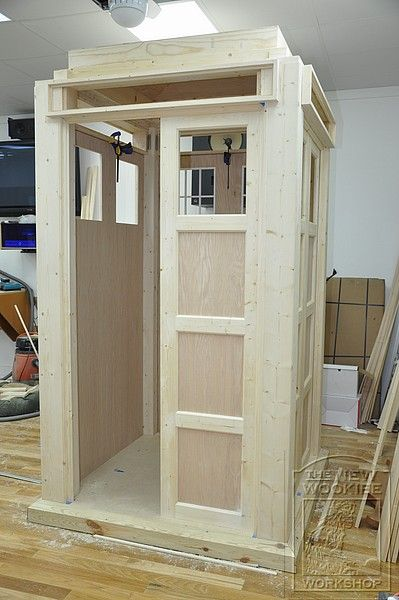 My New Series Doctor Who Tardis Build (image heavy ...