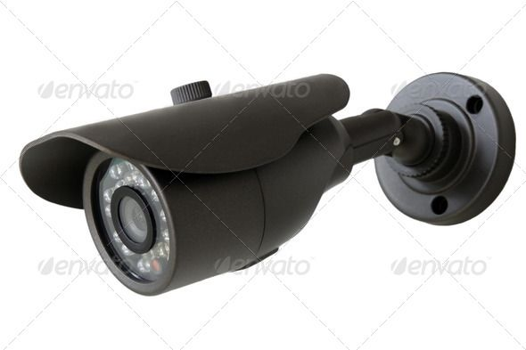 Security camera. http://photodune.net/item/security-camera/5481503