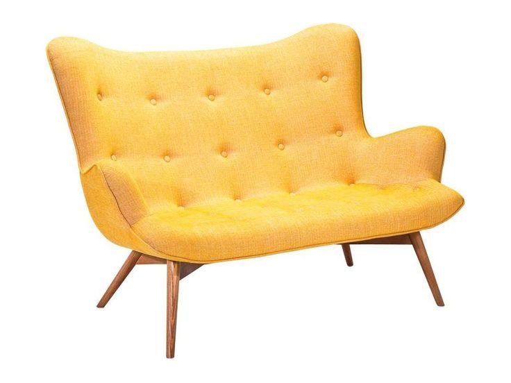 Sofa Angels Wings Rhythm żółta — Sofy Kare Design — sfmeble.pl