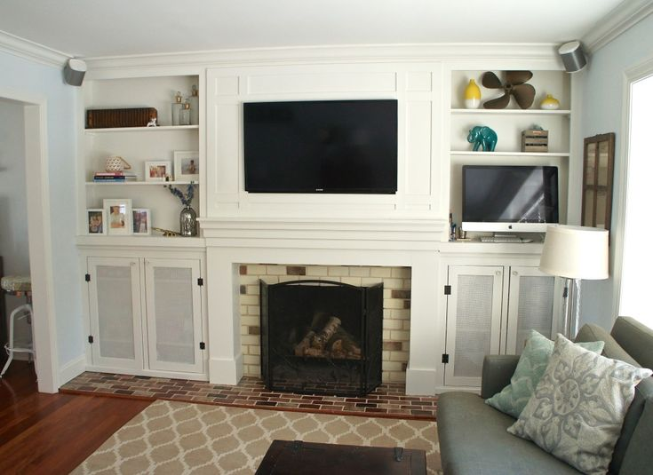 7 best Living Room TV Above Fireplace images on Pinterest | Hidden ...