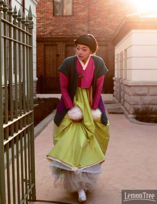 Modern 한복 Hanbok / Traditional Korean dress