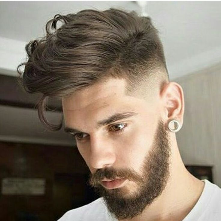 Man Hairstyle For Round Face Big Forehead Men