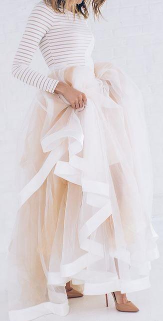 Une robe façon conte de fées