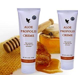 Forever Living - Product: Aloe Propolis Creme. Uses: Face cream, Body cream, Eczema, Psoriasis...