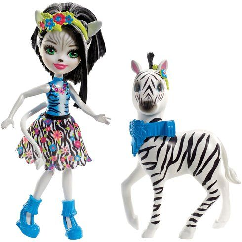 Superb Enchantimals Zelena Zebra Doll and Zebra Friend Hoofette Figure Now At Smyths Toys UK! Buy Online Or Collect At Your Local Smyths Store! We Stock A Great Range Of Enchantimals At Great Prices.