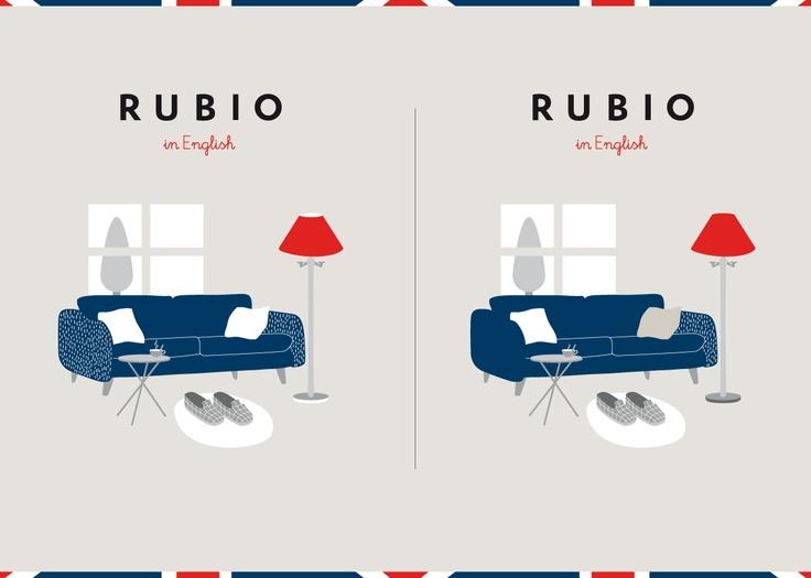 Busca las 5 diferencias en nuestros cuadernos de Rubio English