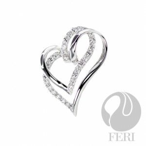 This Valentine's Day  FERI Sweet Love – Pendant 925 fine sterling silver