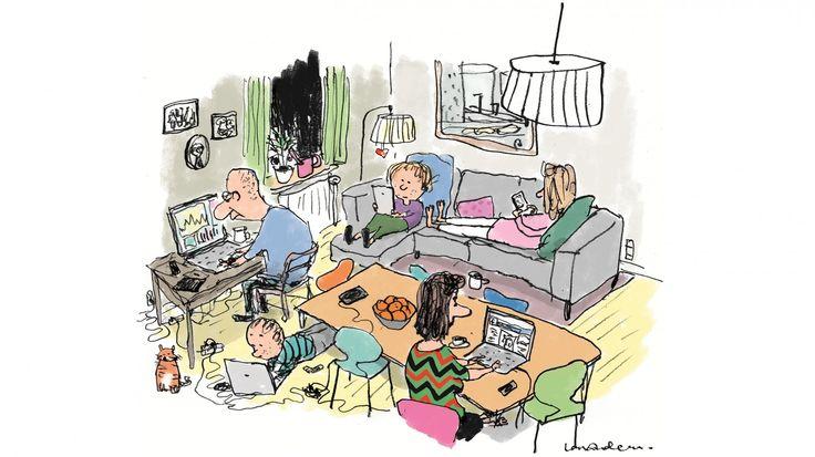 Hvis vi udnyttede teknologien rigtigt, kunne vi som mennesker og familier komme tættere på hinanden. Men alt for ofte skaber smarttelefoner, skoleintra og streaming mere afstand mellem os, og det fører til stress og skilsmisser, viser ny rapport om »De Digitale Børnefamilier«.