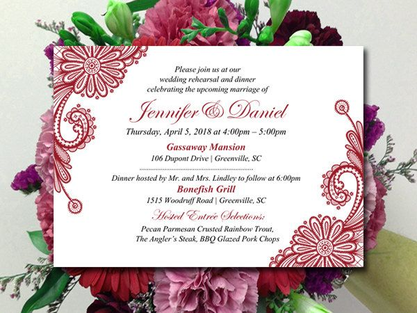 Who Is Invited To The Wedding Rehearsal Dinner: 17 Best Ideas About Wedding Rehearsal Invitations On
