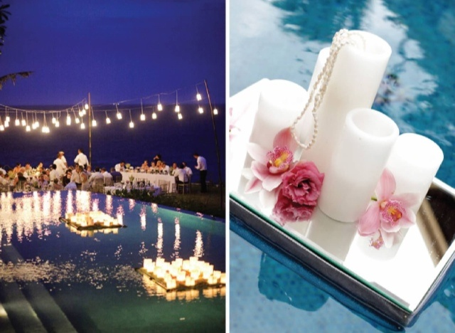 Pool Wedding Decoration Ideas: 78+ Ideas About Pool Wedding Decorations On Pinterest