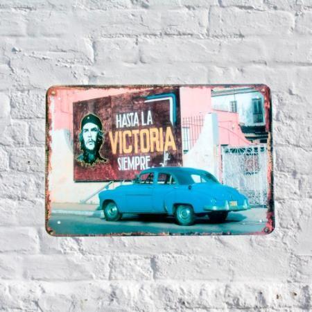 Chapa Decorativa Retro Victoria $ 119.0