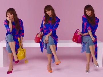 Debenhams showcases the Spring 2018 accessories trends in a new commercial, starring Danish model Helena Christensen.