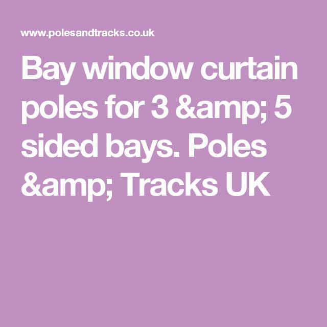 Curtains Ideas bay window curtain pole ceiling fix : 17 best ideas about Bay Window Curtain Poles on Pinterest ...
