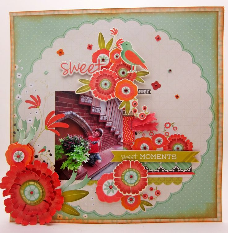 Pinkcloud Scrappers: Spring Bloom with KaiserCraft