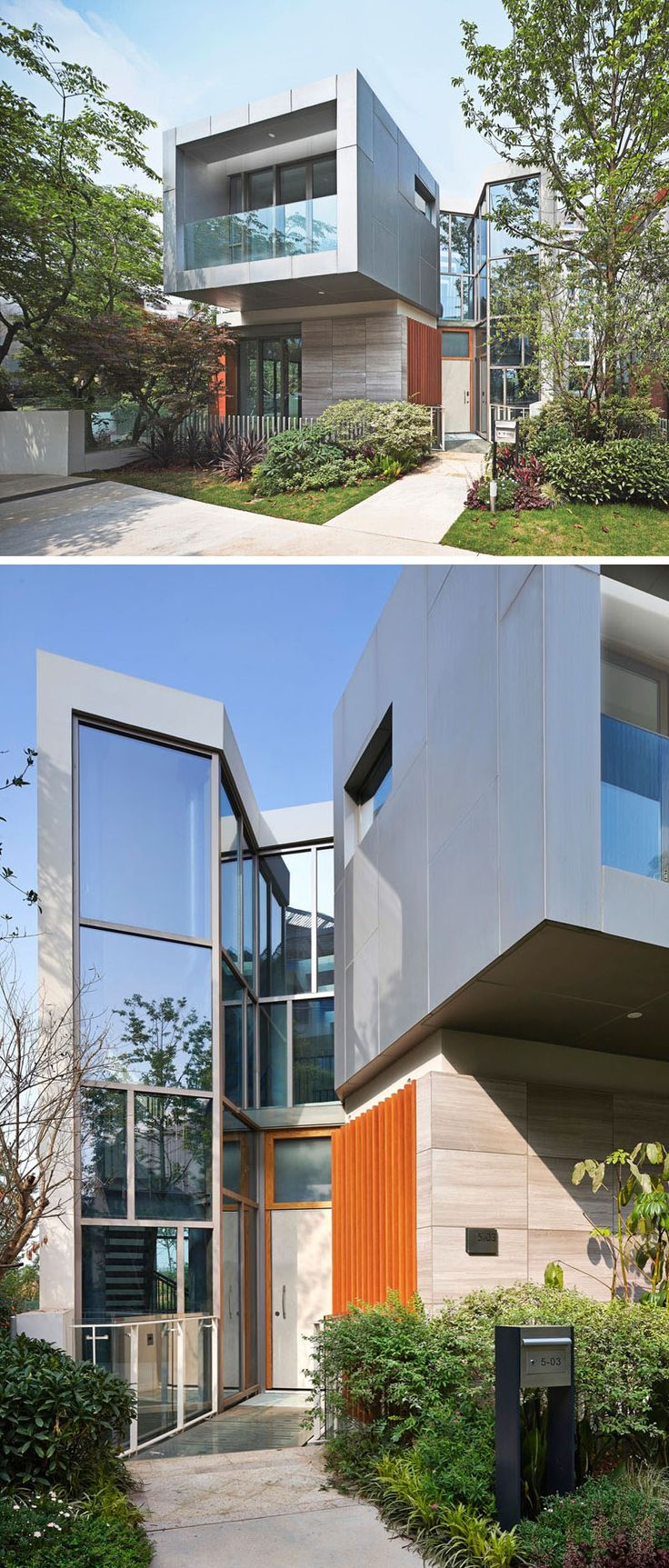 20 exterior pictures of a modern house development in china by john friedman alice kimm architects