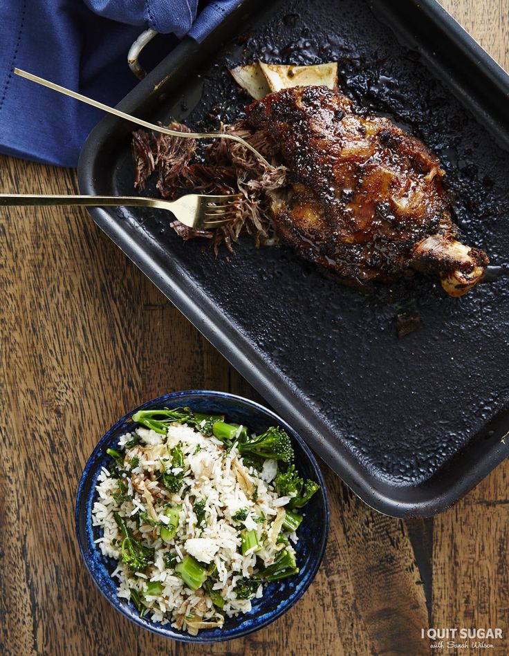 Ever thought you'd be cooking something like this when you're being healthy? Our Middle Eastern Shredded Lamb with Caramelised Onion Pilaf on our 8-Week Program. –I Quit Sugar