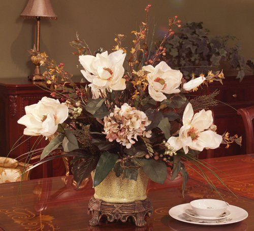 Magnolia Wedding Flower Centerpieces | Wedding Flowers