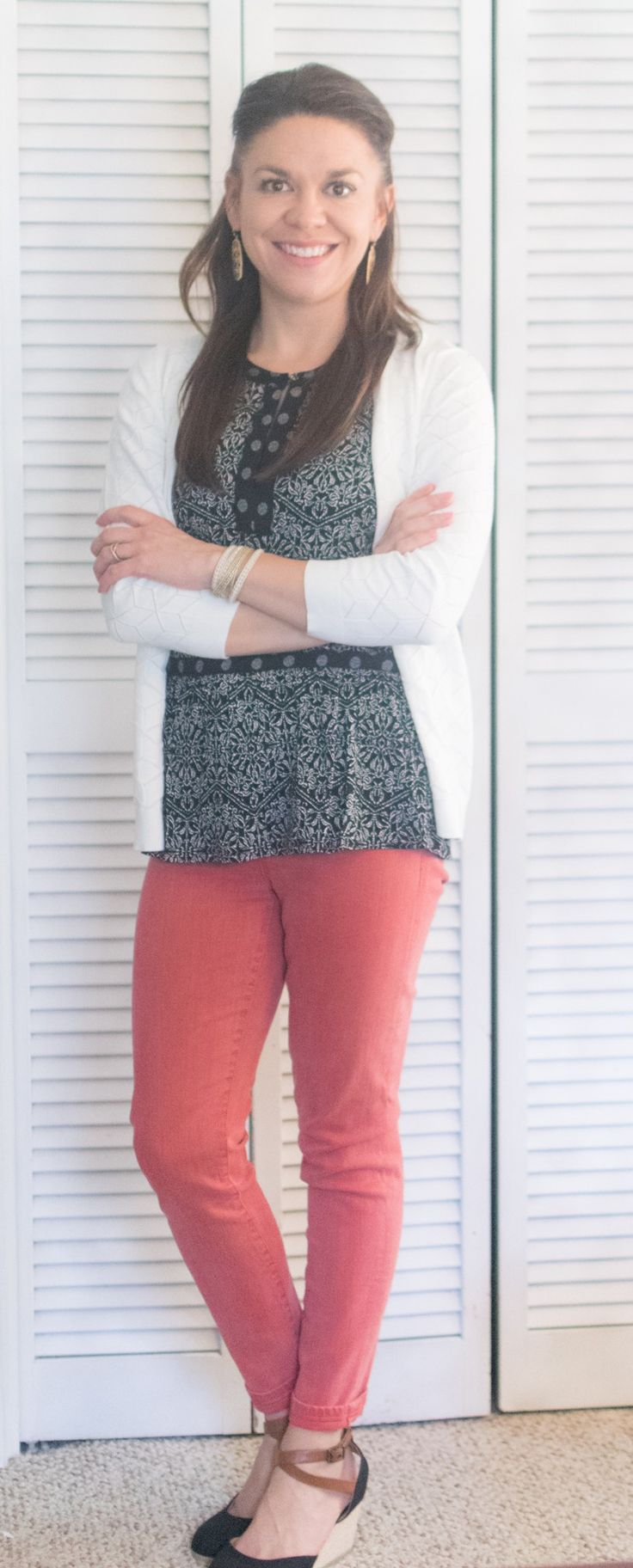 Daniel Rainn Ariel Skirt Hem Top Liverpool Adele Skinny Jean 41 Hawthorn Michellie Pointelle Stitch Fitted Cardigan Stitch Fix Review April 2017