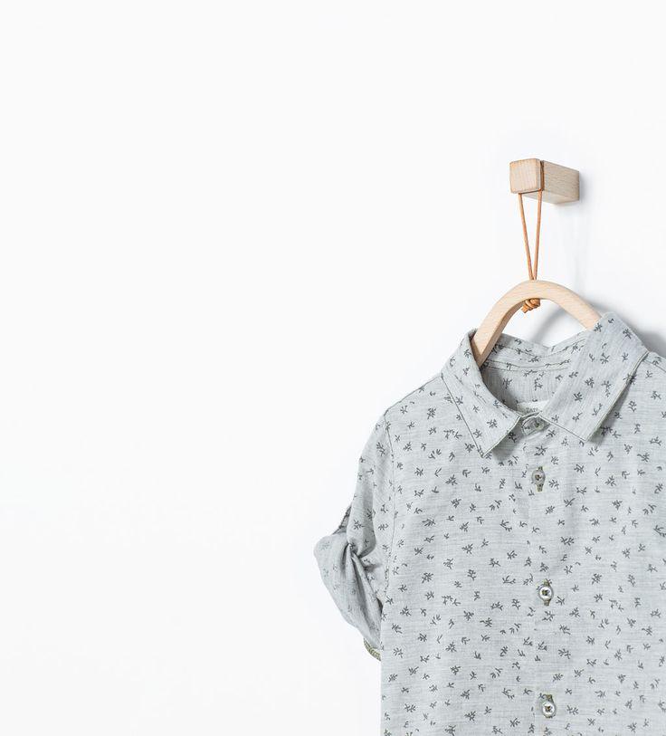 chemises b b gar on 3 36 mois enfants zara france. Black Bedroom Furniture Sets. Home Design Ideas