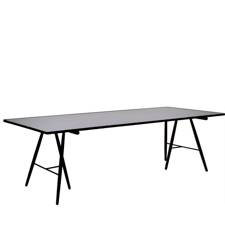 Luxury Atlas Tisch x schwarz hellgrau Jetzt bestellen unter