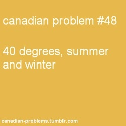 Canadian Problems   +40  -40
