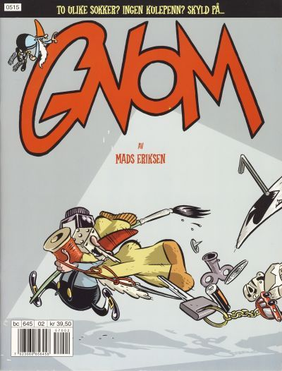Mads Eriksen (born 15 July 1977 Norway) was a cartoonist from 2000 to 2008. Mads Eriksen (born 15 July 1977 Norway) was a cartoonist from 2000 to 2008. His first creation was Gnom in Smult (20002003) which was collected in 2005. He best-known creation is the strip M which made appearances in the monthly Pondus and in 2002 became a daily strip in the newspapers Dagbladet and later in Adresseavisen. Beginning in 2006 a monthly M magazine collected the strips. Described as…