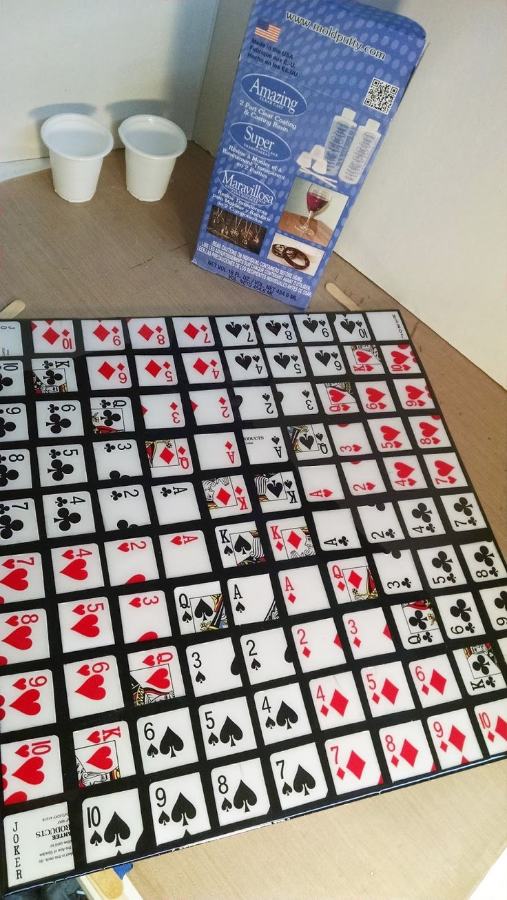 Amazing Mold Putty: Have an AMAZING Game Night! #DIY Sequence Game Board by Bridget Cordero