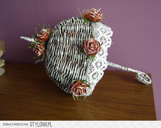 srebrna choinka z papierowej wikliny kurs - Szukaj w Google