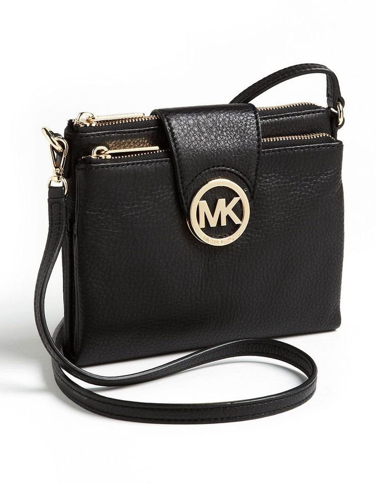 Michael Michael Kors Fulton Crossbody Bag Black