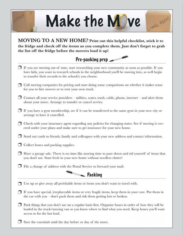 88 best Moving Hacks images on Pinterest Tips, 1st apartment and - moving checklist template