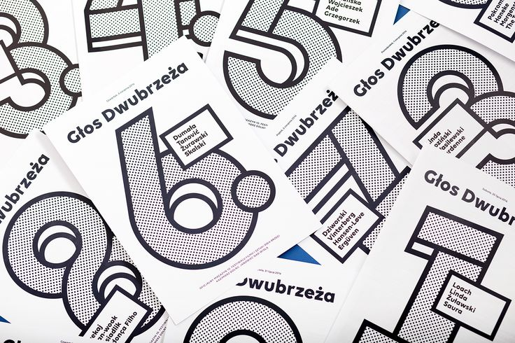 Festival identity for Dwa Brzegi – 10th Film and Art Festival which takes place in Kazimierz Dolny. The main idea was to follow previous edition's theme but also to make a visual language from typography.