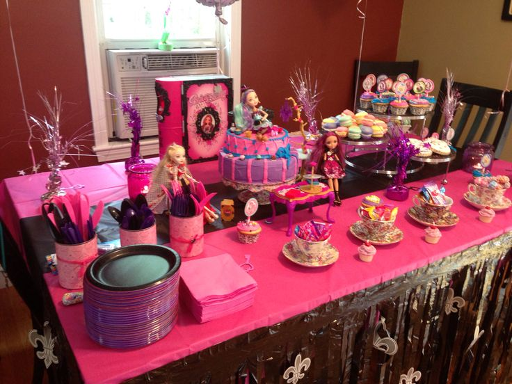115 best ever after high party images on Pinterest | Girl birthday ...