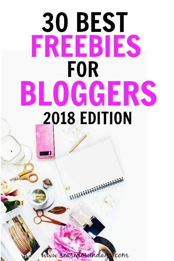 This is an AWESOME list of completely free stuff for bloggers! Tons of blogging freebies like free stock photos, free WordPress themes, free fonts and free blogging courses. These really helped me grow my blog traffic and make money blogging from the get-go. #blogtraffic #blogging #affiliatemarketing
